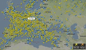 On air-scanner.com you can see all the planes and airports + much more
