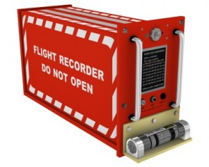 The black box (flight recorder)